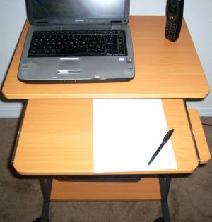 25806 24 Inch Computer Writing Desk