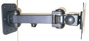 12 inch lcd monitor wall arm
