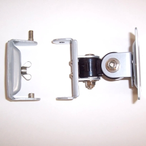 Flat screen Monitor Pole mount bracket