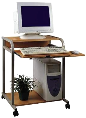 CUZZI 24 inch wide compact Computer Desk STS5801
