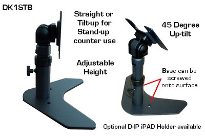 Dk1st Lcd Desk Stand Height Adjustable