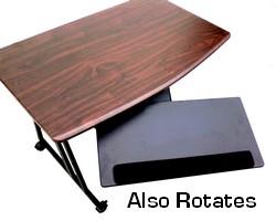 Height Adjule Tilt Keyboard Tray Platform Slide Under Desk And Rotates