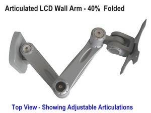 D1680 Folding Lcd Wall Mount Amp Arm