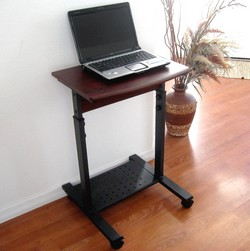 Small Compact Laptop Computer Desk Stand