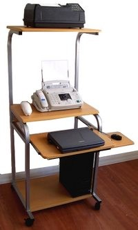 24 inch small narrow computer desk for small spaces