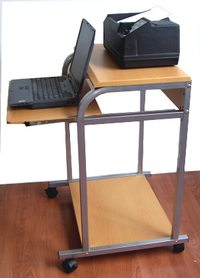 Sts 5801e 24 Computer Desk With Removable Printer Shelf Hutch