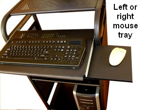 stand-up portable computer stand